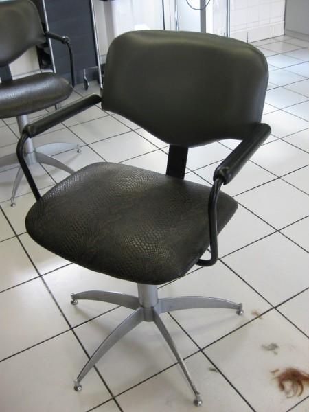siège salon de coiffure