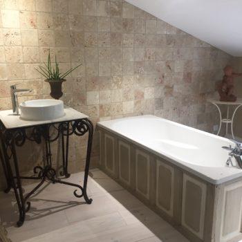 création patine meubles salle de bain
